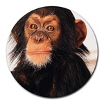 Monkey Round Mousepad