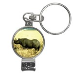 Rhino Nail Clippers Key Chain