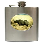 Rhino Hip Flask (6 oz)