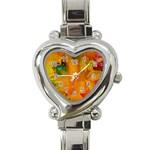 Flowers From My Heart To You   Sherri Nicholas   Heart Italian Charm Watch