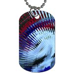 Petunia Blowout Dog Tag (One Side)