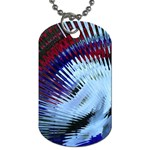Petunia Blowout Dog Tag (Two Sides)