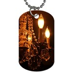 Shabby Chandelier Bling2 Dog Tag (One Side)