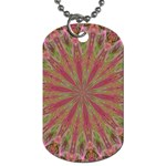 Abstract Pink Galaxy Dog Tag (One Side)