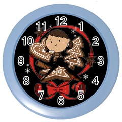 Holiday Wall Clock (color) by Contest1739117