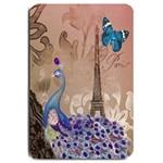 Modern Butterfly  Floral Paris Eiffel Tower Decor Large Door Mat 30 x20  Door Mat