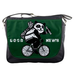 Goodnews Messenger Bag by ROBVDESIGNS