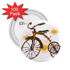 Tree Cycle 2 25  Button (100 Pack)