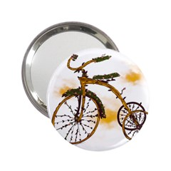 Tree Cycle Handbag Mirror (2 25 )