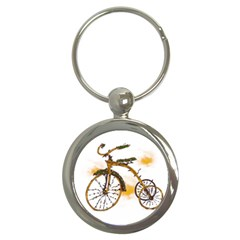 Tree Cycle Key Chain (round) by Contest1753604