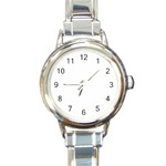 Happy Hour Round Italian Charm Watch