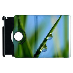 Waterdrops Apple Ipad 3/4 Flip 360 Case by Siebenhuehner
