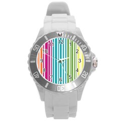 Color Fun Plastic Sport Watch (large) by PaolAllen