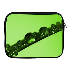 Green Drops Apple Ipad 2/3/4 Zipper Case by Siebenhuehner