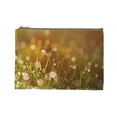 Waterdrops Cosmetic Bag (large) by Siebenhuehner