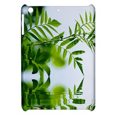 Leafs With Waterreflection Apple Ipad Mini Hardshell Case by Siebenhuehner