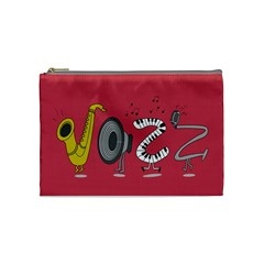 Jazz Cosmetic Bag (medium) by PaolAllen2