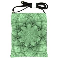 Spirograph Shoulder Sling Bag by Siebenhuehner