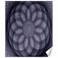 Spirograph Canvas 20  X 24  (unframed) by Siebenhuehner