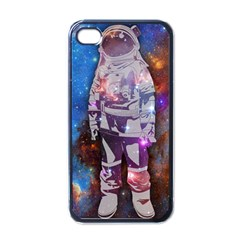 The Astronaut Apple Iphone 4 Case (black) by Contest1775858a