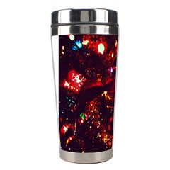 Ah 001 Ave Hurley Christmas Tree Close Up Stainless Steel Travel Tumbler from Art2Do Left