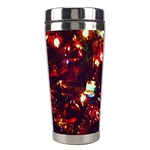 Ah 001 Ave Hurley Christmas Tree Close Up Stainless Steel Travel Tumbler from Art2Do Center