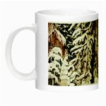 Castle Yard in Winter -  Night Luminous Mug