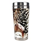 Ah 001 071 Ave Hurley Castle Yard In Winter 3m Signed Stainless Steel Travel Tumbler