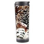Ah 001 071 Ave Hurley Castle Yard In Winter 3m Signed Travel Tumbler