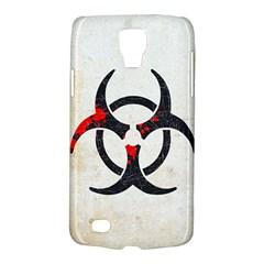Biohazard Symbol Samsung Galaxy S4 Active (i9295) Hardshell Case by Contest1775858