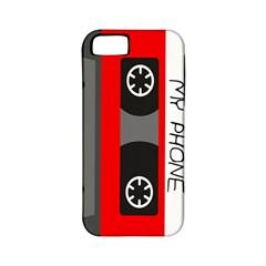 Cassette Phone Apple Iphone 5 Classic Hardshell Case (pc+silicone)