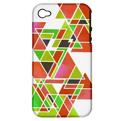 Trianglez Apple Iphone 4/4s Hardshell Case (pc+silicone)