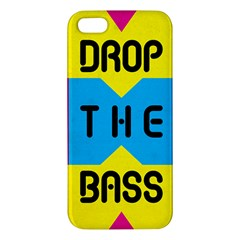 Drop The Bass Iphone 5 Premium Hardshell Case by Contest1775858