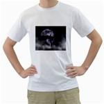 Neuschwanstein Castle at Night - Germany White T-Shirt