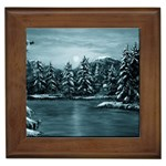 Winter Moon -  Ave Hurley   Framed Tile