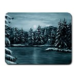 Winter Moon -  Ave Hurley   Small Mousepad