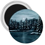 Winter Moon -  Ave Hurley   3  Magnet