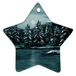 Winter Moon -  Ave Hurley   Ornament (Star)