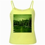 Winter Moon -  Ave Hurley   Yellow Spaghetti Tank