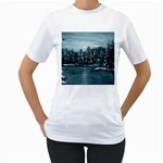Winter Moon -  Ave Hurley   Women s T-Shirt