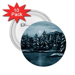 Winter Moon -  Ave Hurley   2.25  Button (10 pack)
