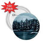 Winter Moon -  Ave Hurley   2.25  Button (100 pack)