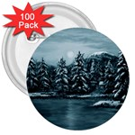 Winter Moon -  Ave Hurley   3  Button (100 pack)