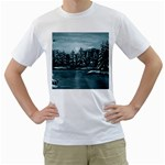 Winter Moon -  Ave Hurley   White T-Shirt