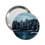 Winter Moon -  Ave Hurley   2.25  Handbag Mirror