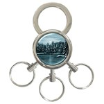 Winter Moon -  Ave Hurley   3-Ring Key Chain