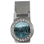 Winter Moon -  Ave Hurley   Money Clip (CZ)