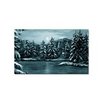Winter Moon -  Ave Hurley   Sticker (Rectangular)