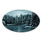Winter Moon -  Ave Hurley   Magnet (Oval)