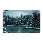 Winter Moon -  Ave Hurley   Magnet (Rectangular)